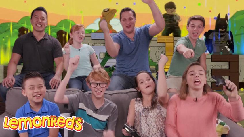 Working with Lemons vs EvanTubeHD vs Bratayley vs Flippin' Katie LEGO Dimensions Battle Arena