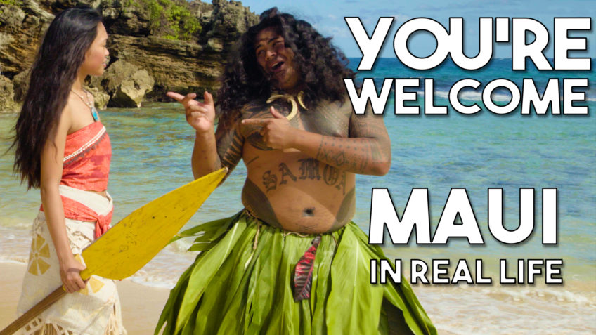 Maui's You're Welcome from Disney's Moana/Vaiana